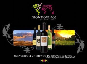 acceso a nuestro catalogo - MONDOVINOS