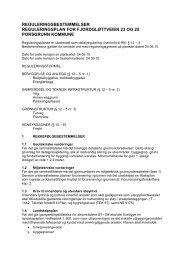 reguleringsbestemmelser reguleringsplan for fjordgløttveien 23 og ...