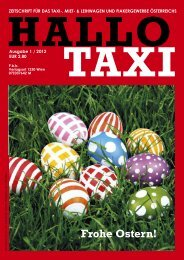 Frohe Ostern! - bei Taxi 60160