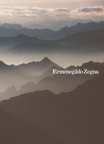 Ermenegildo Zegna Fall/Winter 2012
