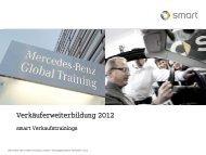 Mercedes-Benz Verkäuferausbildung Potenzialeinschätzung - Daimler
