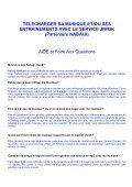 TELECHARGER SA MUSIQUE ET/OU SES ... - Decathlon - Page 6