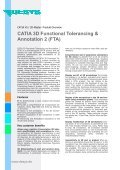 CATIA 3D Functional Tolerancing & Annotation 2 (FTA) - DESYS - Page 2