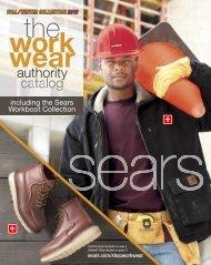 Sears Workwear Fall/Winter 2012