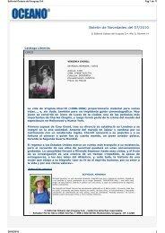 Boletín de Novedades del 07/2010. Año II, Número 14. - Editorial ...