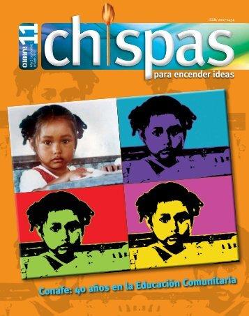 Revista: Chispas No.11 - conafe.edu.mx
