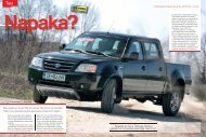 Prenesi PDF testa Tata Tata Xenon Crew Cab 2.2L ... - Avto Magazin
