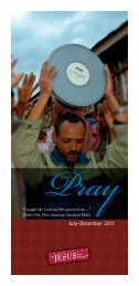 prayer guide - The JESUS Film Project
