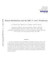 arXiv:hep-ph/9907231 v1 5 Jul 1999