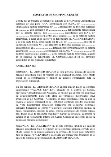 Conste por el presente documento el contrato prestamos for Contrato documento