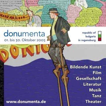 Programm donumenta 2005 (pdf)