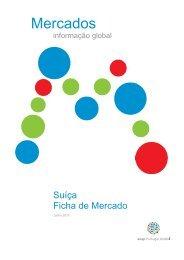 Ficha do Mercado da AICEP Portugal Global sobre a Suíça