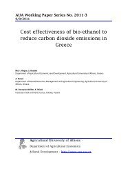 Cost effectiveness of bio-ethanol to reduce carbon dioxide ...