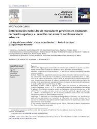 Determinación molecular de marcadores genéticos en síndromes ...