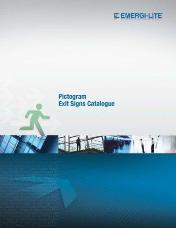 Pictogram Exit Signs Catalogue