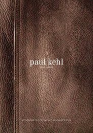Menswear collection autuMn/winter 10/11 - Paul Kehl