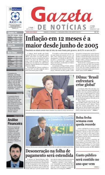 Inflação em 12 meses é a maior desde junho de 2005 - Jgn.com.br