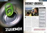 energy-drinks - Huber Verlag GmbH & Co. KG