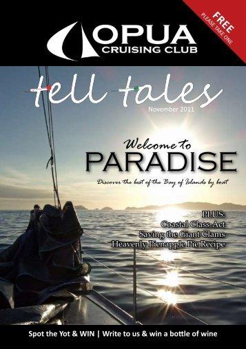 Tell Tales November 2011 - Opua Cruising Club