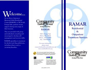 Download Brochure - Community Health Center