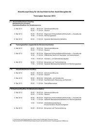 Abschlussprüfung für die kaufmännischen Ausbildungsberufe