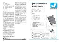 Viessmann Gebrauchsanleitung Manual Mode d'emploi - Euro Rail ...