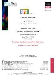 here - Sites personnels de TELECOM ParisTech - Télécom ParisTech