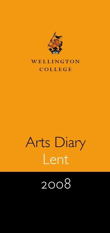 Lent Arts Diary 2008