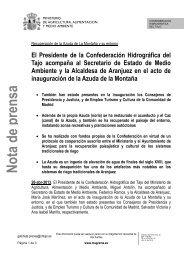 En el Ayuntamiento de Talavera de la Reina - Confederación ...