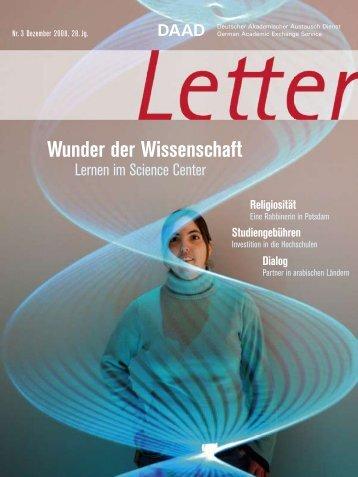 Wunder der Wissenschaft - DAAD-magazin