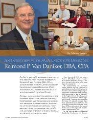 Relmond P. Van Daniker, DBA, CPA - AGA