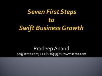 Pradeep Anand - Seeta Resources