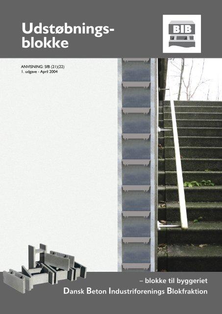 Udstøbningsblokke - Dansk Beton