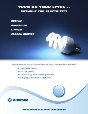 Data Sheet - Diazyme Laboratories