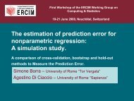 The Estimation of Prediction Error for Neural Networks