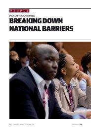 BREAKING DOWN NATIONAL BARRIERS