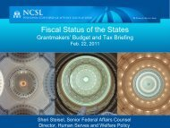Feb. 22, 2011 - GIST: Grantmakers Income Security Taskforce