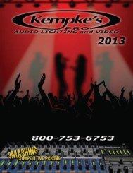 Download 2013 - Kempke's Music Service