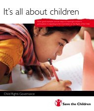 It's all about children - Save the Children