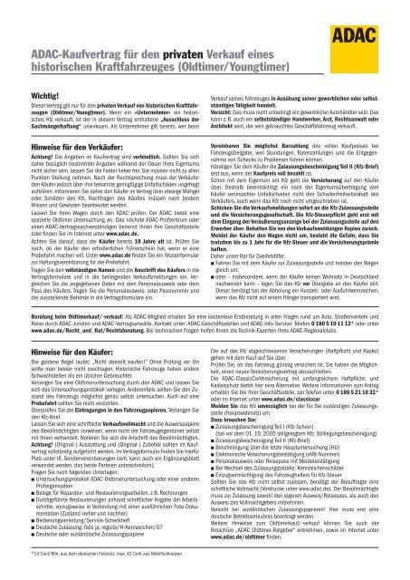 Adac Oldtimer Kaufvertrag Mercedes Benz Oldtimer Newsticker