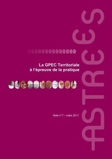 La GPEC Territoriale à l'épreuve de la pratique