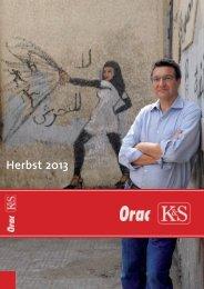 Herbstprogramm 2013 - Kremayr & Scheriau
