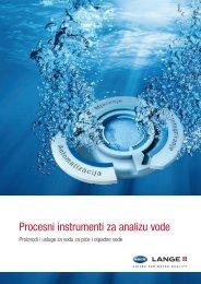 Procesni instrumenti za analizu vode - HACH LANGE
