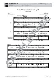5178 Lord i know SATB_web - Helbling Verlag