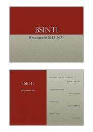 Präsentation BSINTI VAL 16022013.pptx - VAL Braunwald