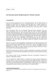 Zur Restaurierung der Buchholzorgel in St. Nikolai ... - Orgelbau Klais