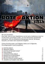 Wir sind Sozialisten. Das heißt, dass wir den ... - Rote Aktion Köln