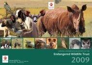 2009 - Endangered Wildlife Trust