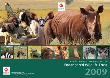 2009 - Endangered Wildlife Trust