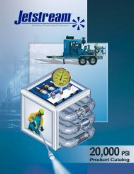 Complete 20000 psi Products Catalog - Jetstream